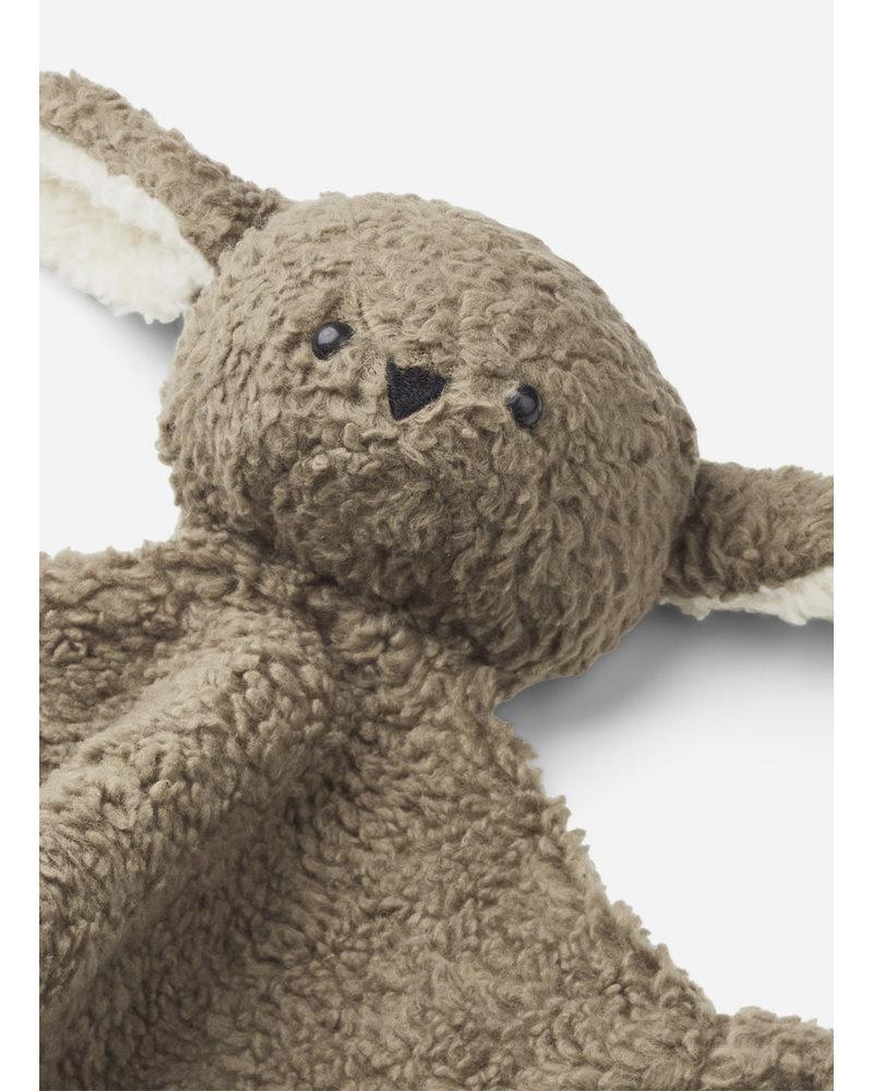 Liewood lotte cuddle cloth rabbit khaki