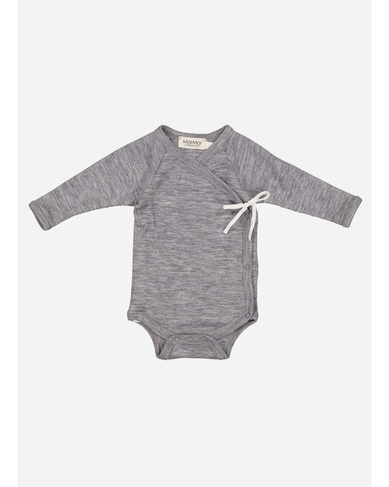 MarMar Copenhagen newborn belita wool grey melange