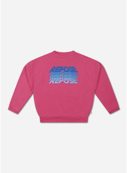 Repose crewneck sweater pink rose