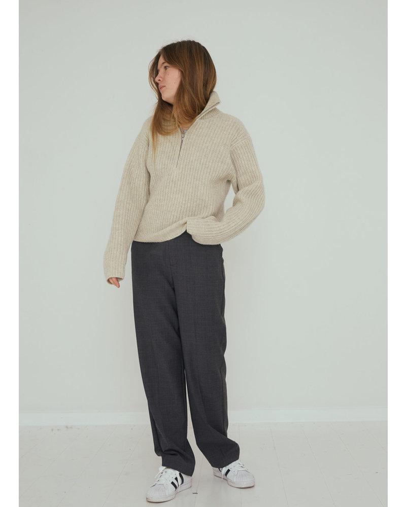Designer Remix Girls carmen knit oatmeal