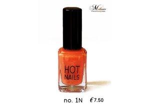 MEL Professional HOTNAILS Oranje/geel
