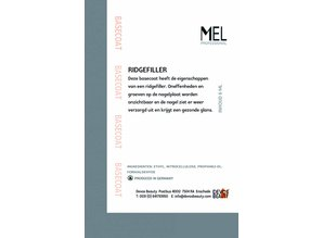 MEL Professional Basecoat / Ridgefiller