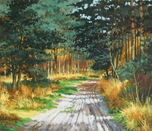 Bekijk online de collectie schilderijen van Toon van den Broek