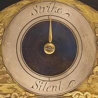 George I Ebonised Bracket Clock