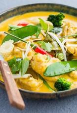 Thaise kip met rode curry - 500g