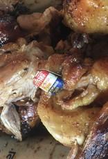 zwartpoot kip a la broche tropiziene 2 a 3 pers