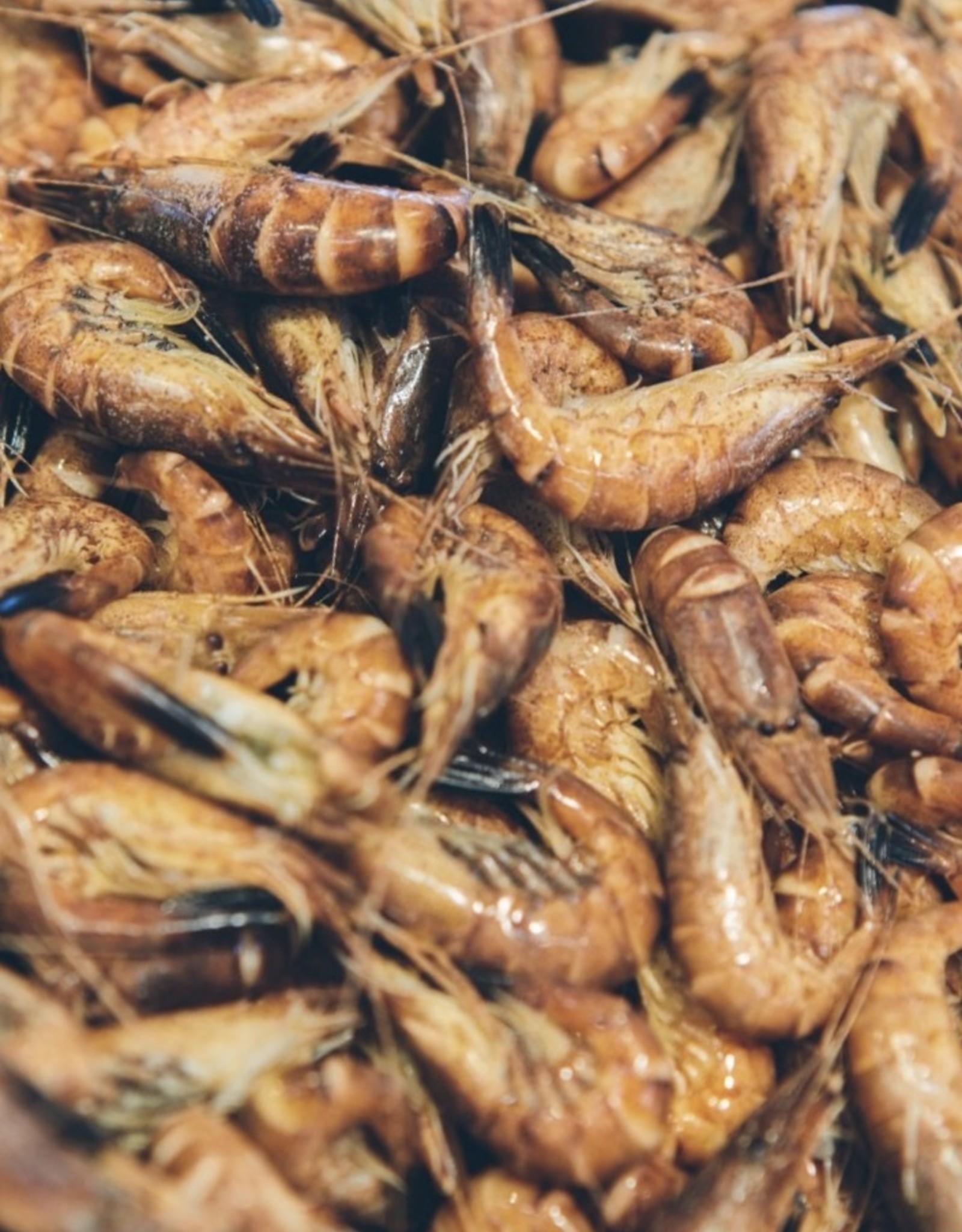 ongepelde garnalen 200 gr