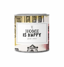 The Gift Label The Gift Label Candle Tin Home is Happy Firewood S