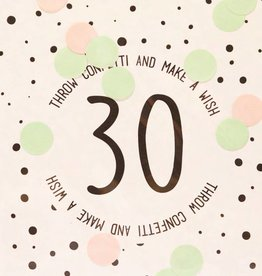 The Gift Label The Gift Label Confetti Card 30