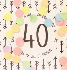 The Gift Label The Gift Label Confetti Card 40