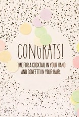 The Gift Label The Gift Label Confetti Card Congrats