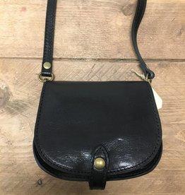 Vintage tas klein zwart