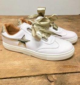 Sneaker ster goud