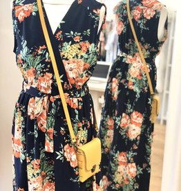 Maxi jurk bloemen