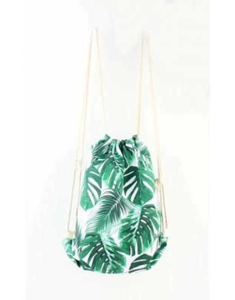 Rugtas palmbladeren