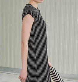 24Colours Striped Dress