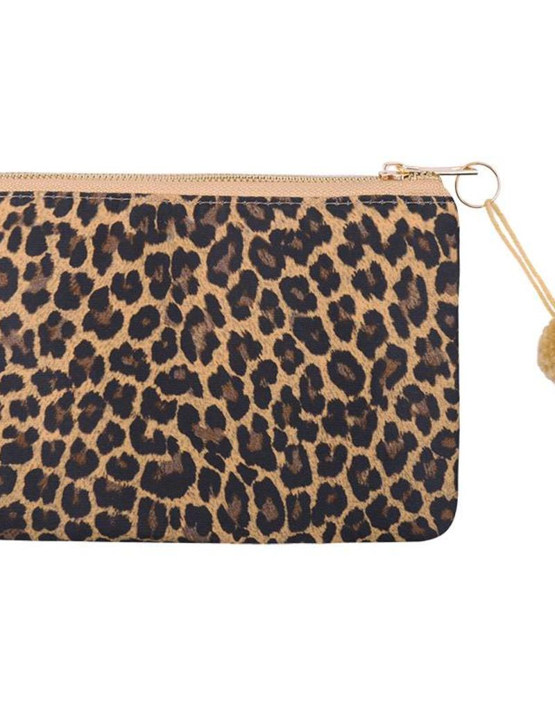 Clutch / Make Up Tas Leopard love