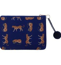Clutch / Make Up Tas Wild Leopard