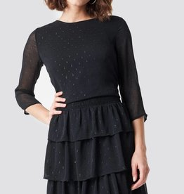 Rut & Circle Glitter Dot Frill Dress
