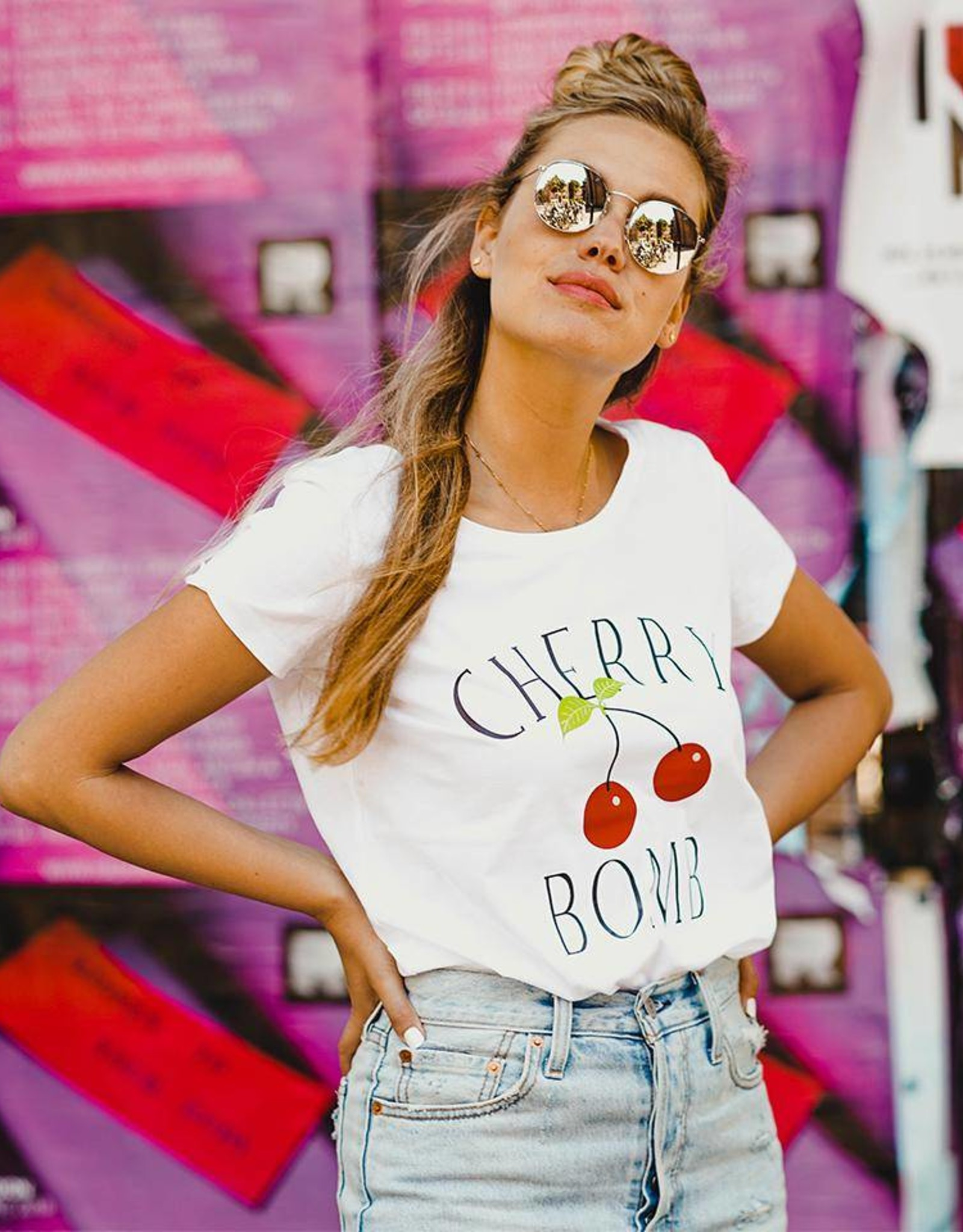 Forever Friday Tee Cherry Bomb