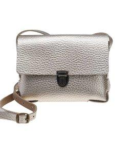 Elvy Elvy Bag Gloria Metallic Bubble Silver