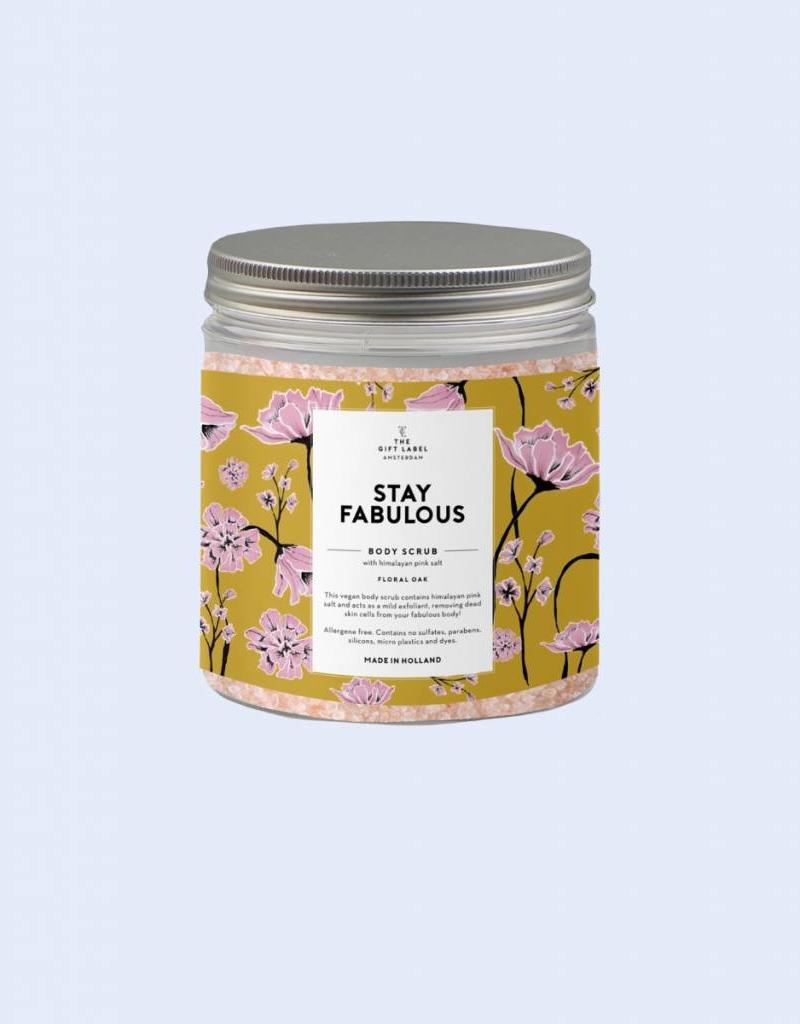 The Gift Label The Gift Label Himalayan Body Scrub Stay Fabulous