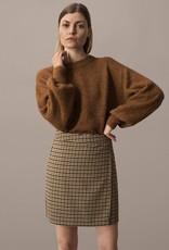 Ichi ICHI Check skirt