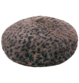 Baret Leopard Bruin