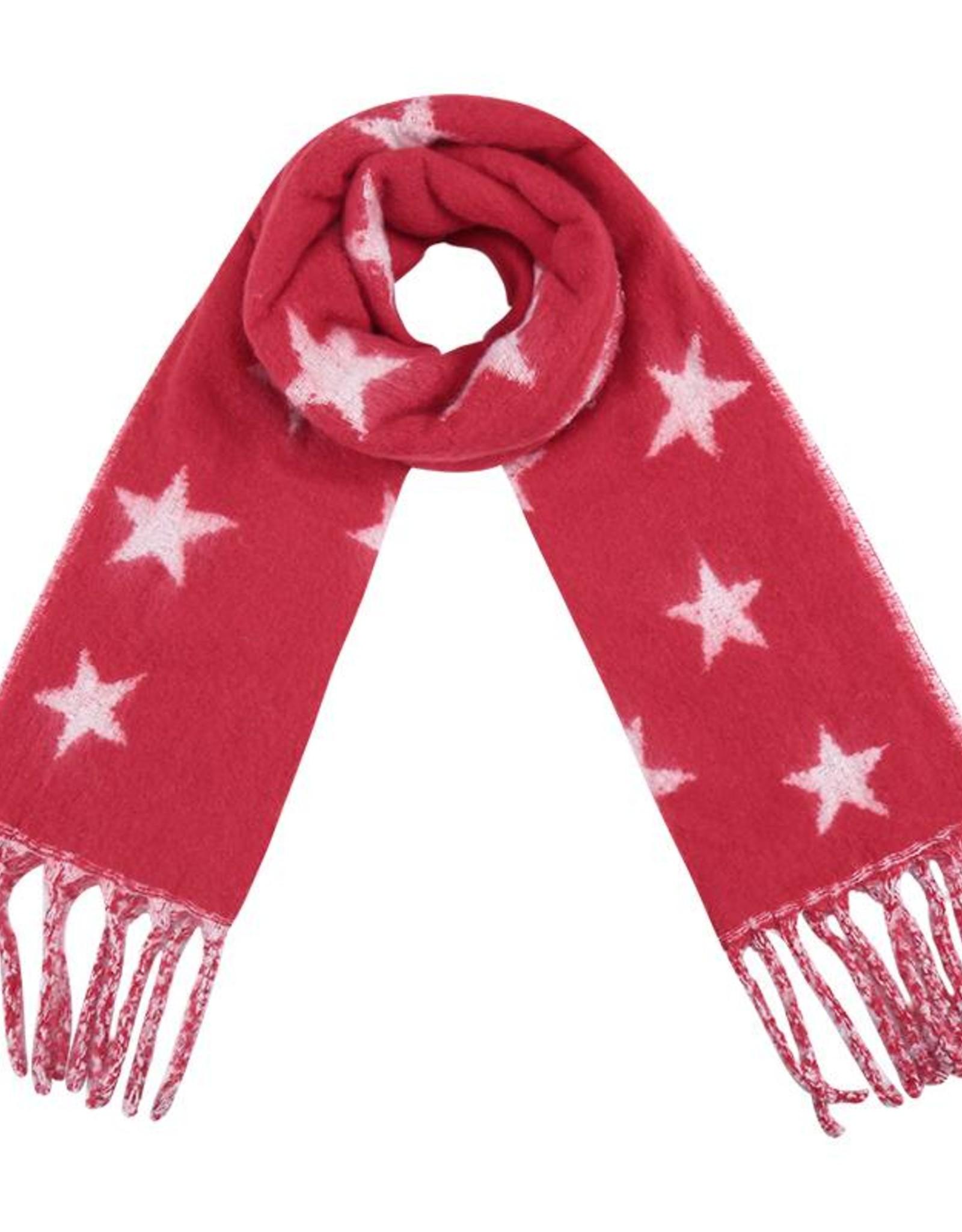 Sjaal Ster Rood