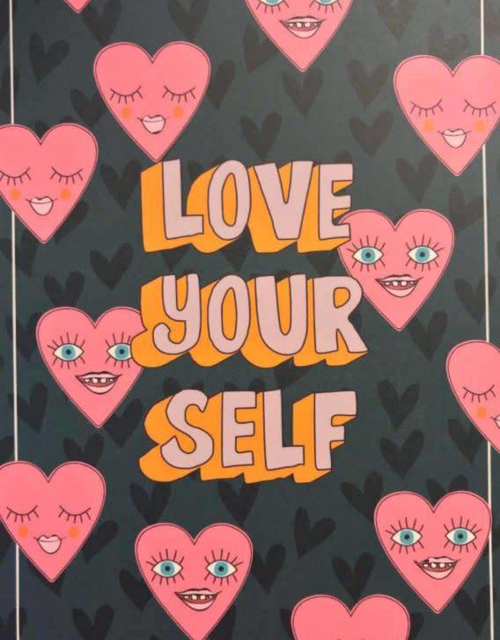 Bulu Bulu anzichtkaart Love yourself