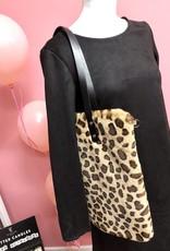 Shopper fake fur Leopard