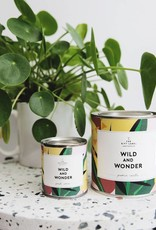 The Gift Label The Gift Label Candle Tin Wild and Wonder Fresh Cotton S