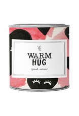 The Gift Label The Gift Label Candle Tin Warm Hug Fresh Cotton S
