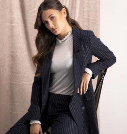 Harper & Yve Harper & Yve Lurex Pinstripe Blazer