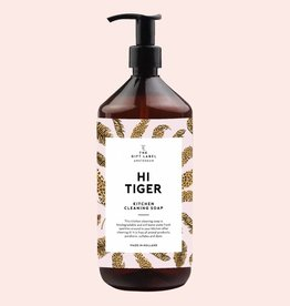 The Gift Label The Gift Label Kitchen Cleaning Soap Hi Tiger