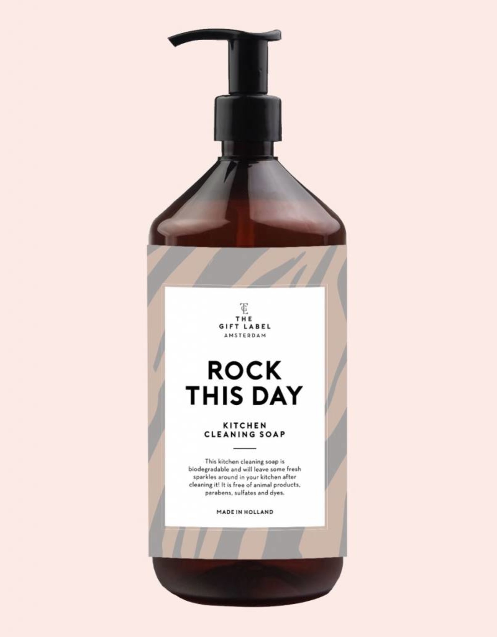 The Gift Label The Gift Label Kitchen Cleaning Soap Rock this day