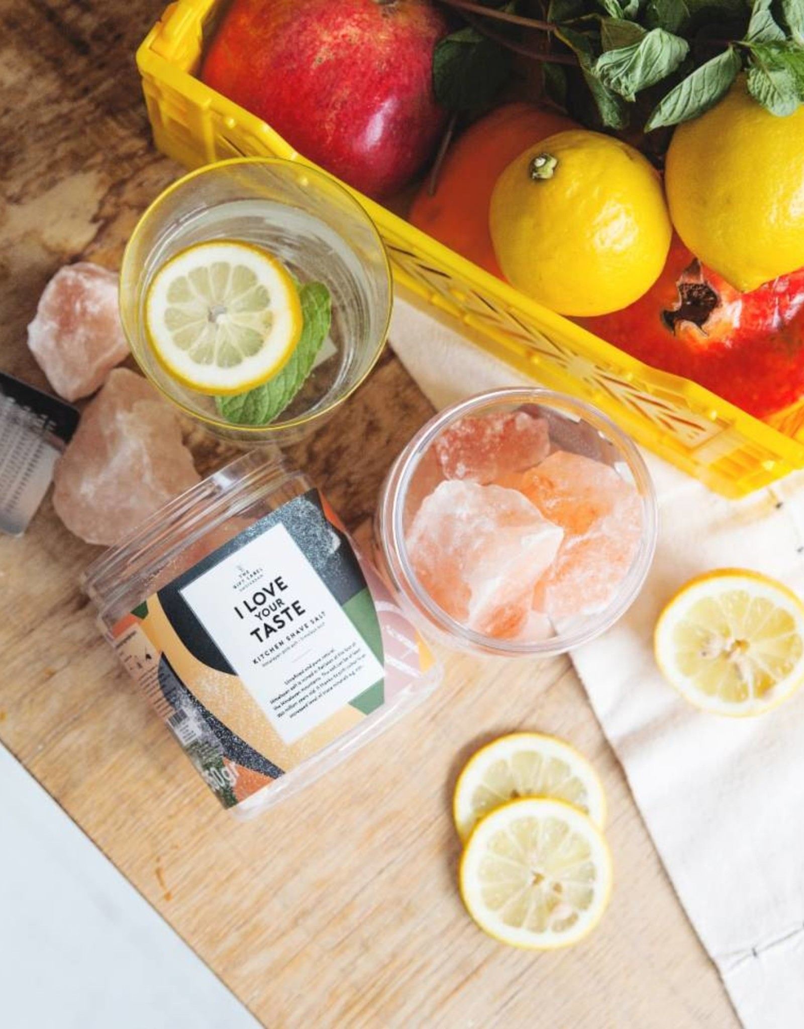 The Gift Label The Gift Label Kitchen Shave Salt I love