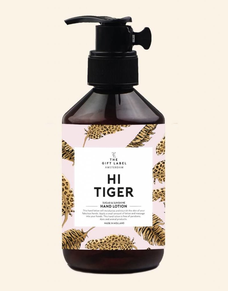 The Gift Label The Gift Label Hand Lotion Hi Tiger