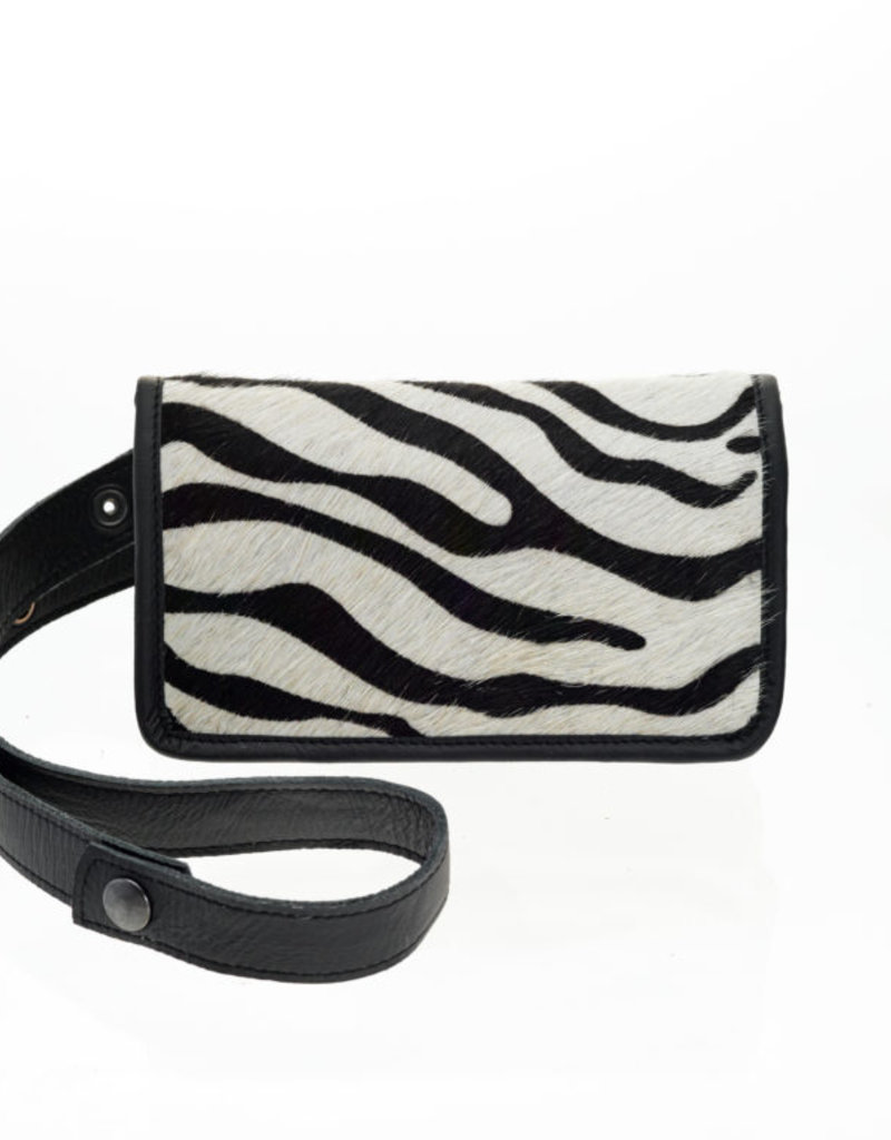 Elvy Elvy Amy Fanny Pack Skin Zebra