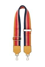 Bulu Bulu bag-strap stripe Big Yellow