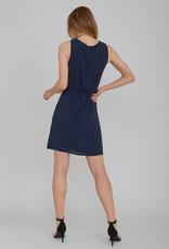 Rut & Circle Knot Neck Dress