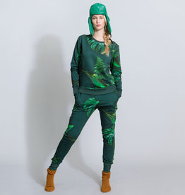Snurk Snurk Green Forest Sweater Woman