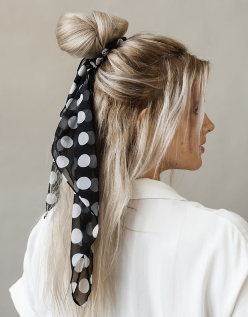 Bulu Bulu Hair Scarf Dots