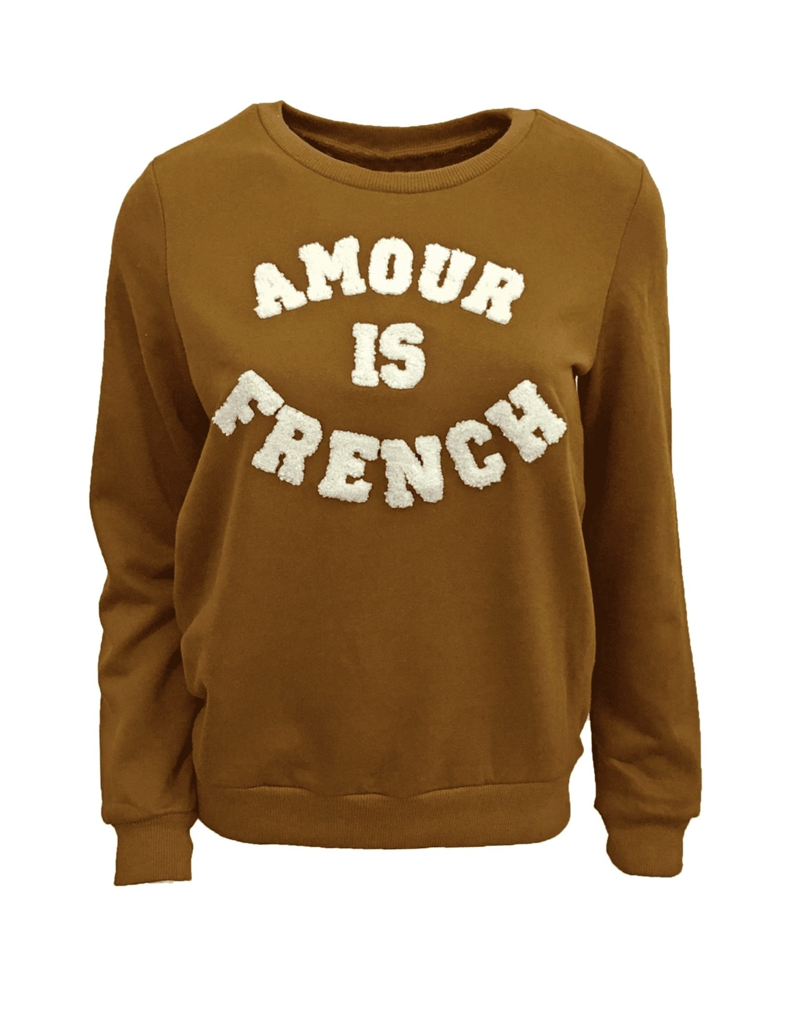 Sweater amour caramel