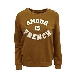 Sweater amour caramel
