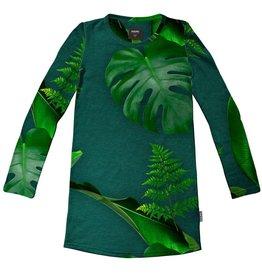 Snurk Snurk Green Forest Long Sleeve dress kids
