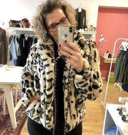 Rut & Circle Nova Short Faux Fur Jacket