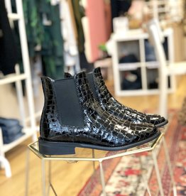 Hip Hip Leren Chelsea Boot Croco