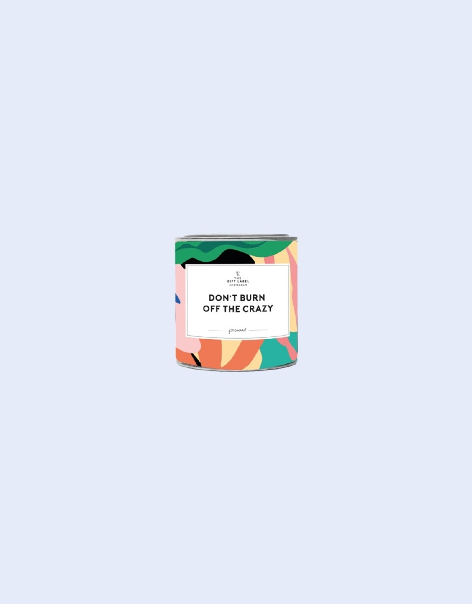 The Gift Label The Gift Label Candle Tin Don't Burn Jasmine / Vanilla S