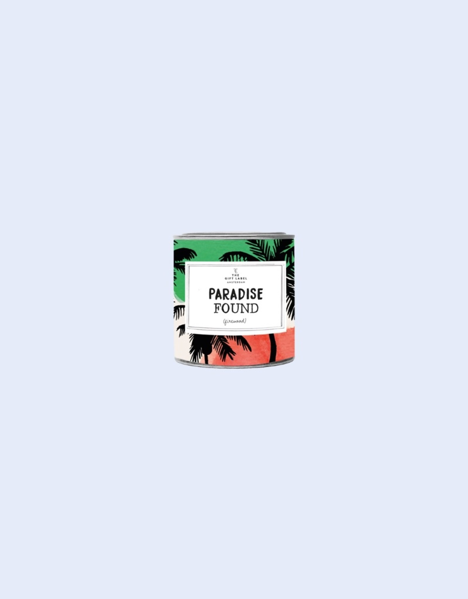 The Gift Label The Gift Label Candle Tin Paradise Jasmine / Vanilla L